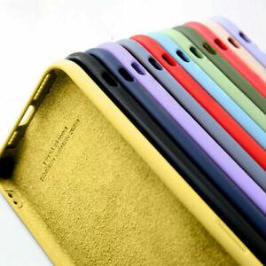 Liquid Silicone Soft TPU Case Cover For iPhone 12 Mini 11 Pro Max XS XR 8 7 6 SE