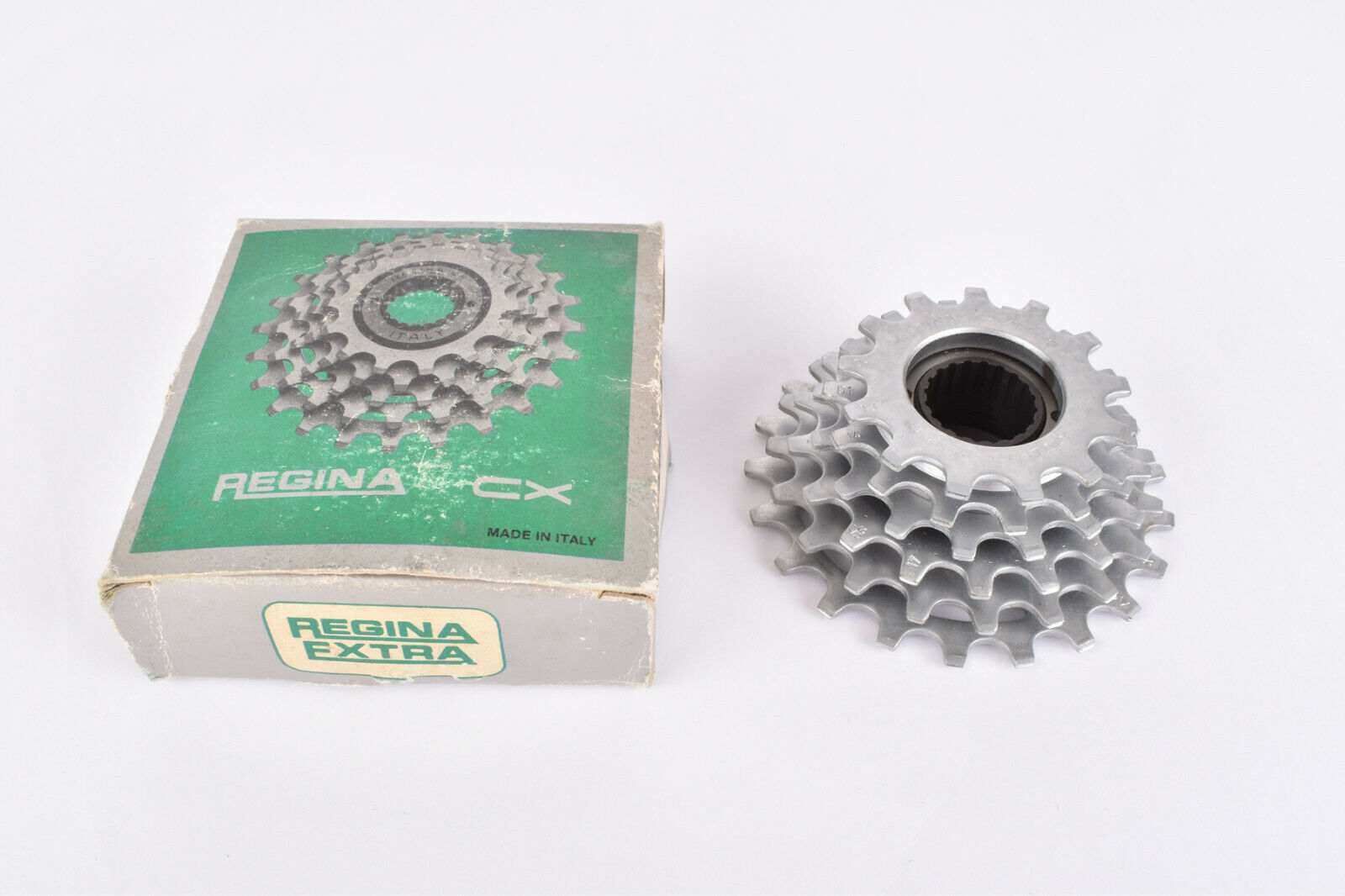 NOS NIB Regina CX CX S 6 Speed Freewheel with 13-21 teeth and French Threading