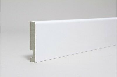 Pre Finished Bullnose Architrave Boards KOTA MDF 68mm x18mm x 4.4 mtr Free P/&P