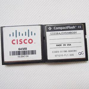 100-x-64MB-CISCO-CompactFlash-Standard-CF-scheda-di-memoria-originale-lotto