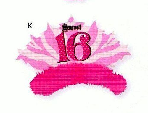20//5015 Tiara Sweet 16 Birthday Party Decoration