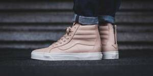 3a9c24c46e Vans SK8 Hi Reissue Zip DX Veggie Tan Leather Men s Skating Shoes ...