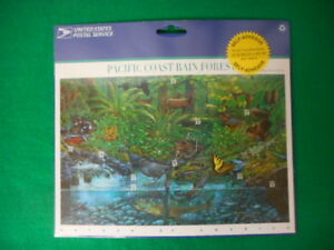 Pacific-Coast-Rain-Forest-Mint-Stamp-Sheet-NH-VF-Original-Package
