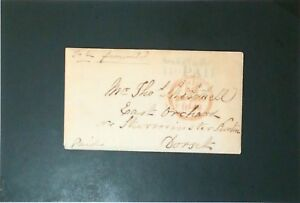 Great-Britain-1845-Stampless-Cover-w-Enclosed-Letter-Z3410