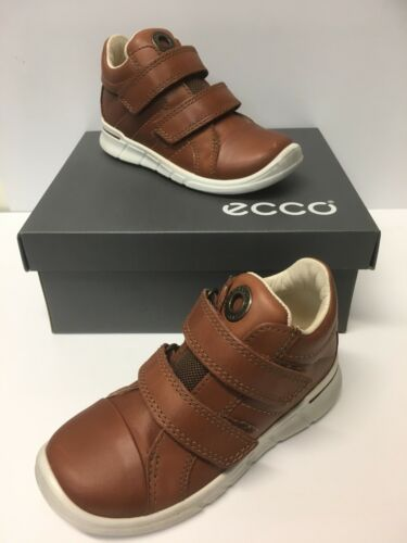 754031 Now Only £29.90 Ecco First /' Firefly/' Boys Boots in Mahogany