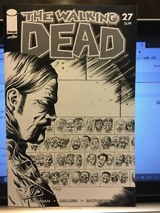 Image Comics THE WALKING DEAD #27 color virgin variant 15 Year Anniversary