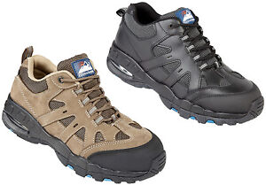 7868c82d094 Details about Himalayan Safety Trainers Air Bubble Steel Toe Cap Hiker  Style Unisex Work Shoes