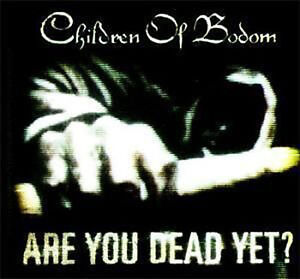 89a656f2d18 CHILDREN OF BODOM Are You Dead Yet  Logo Sticker NEW OFFICIAL ...