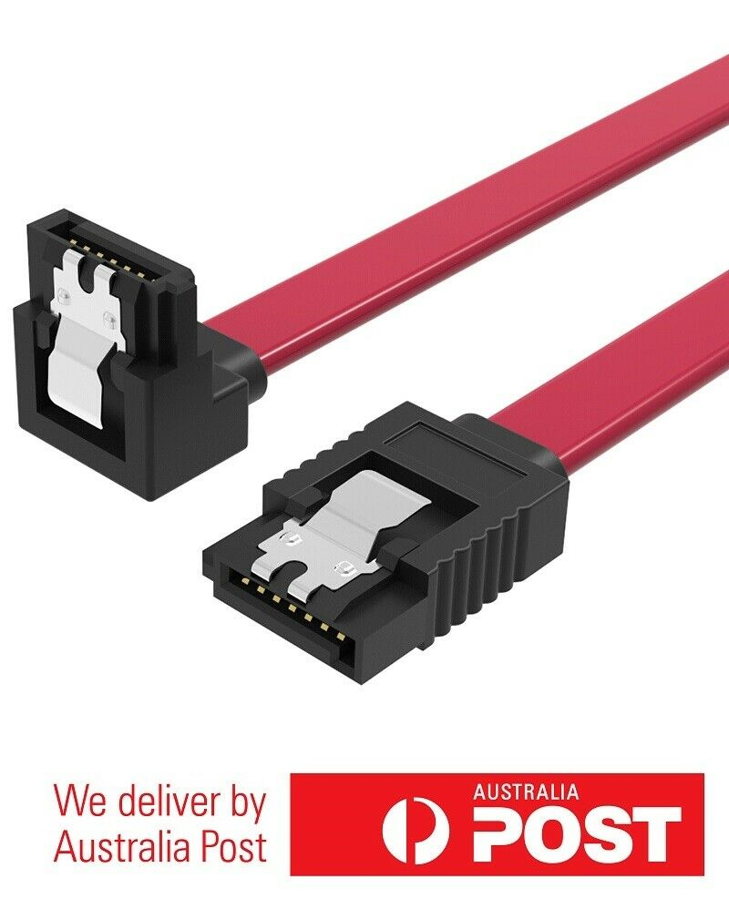 Vention 0.5M Right Angle SATA 3.0 7-Pin Data Cable Super Speed SSD HDD 6Gbps