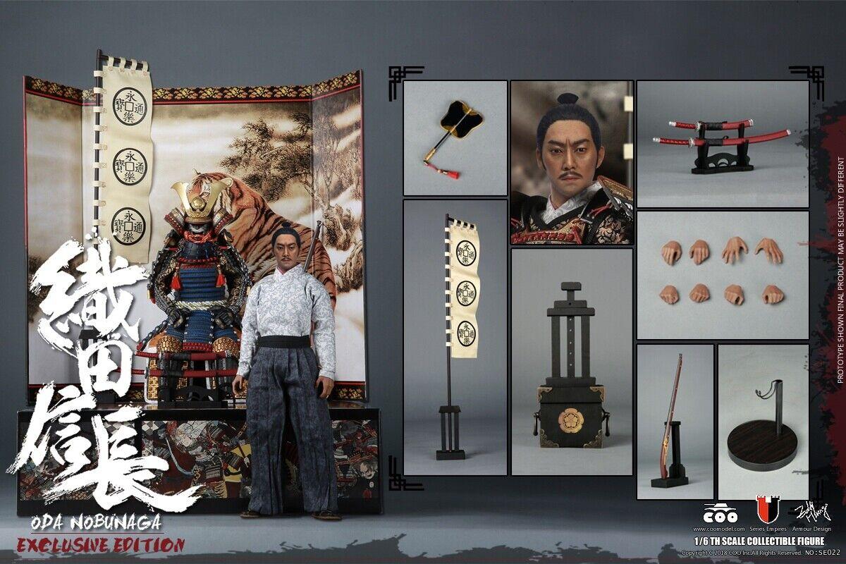 KOmodeLEL Japans samuraj metall ARMOR ODA NOBUNAGA 1 6 Figur Deluxe VER.
