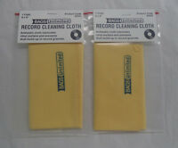 Vinyl Record Cleaning Cloths, Antistatic 8 X 9 Pack Of 2 In Bag (cleaner)