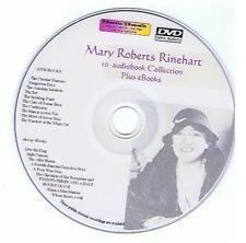 Mary Roberts RINEHART Detective Mystery Audiobook eBooks  Mp3 DVD, kindle, iPad