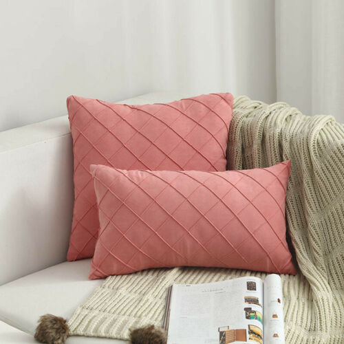 Modern Simple Nordic Pillow Case Suede Luxury Cushion Cover Household Supplies