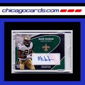 Mark-Ingram-Autograph-1-3-Topps-2012-Summit-Las-Vegas-Exclusive-Factory-Sealed
