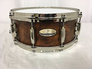 Pearl-Masters-MCX-LTD-EDITION-14-034-Diameter-X-5-5-034-Deep-Snare-Drum-Natural-Matte