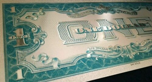 """/<MINT/> OLD STYLE /""""GOLD/"""" $1.00 GOLD CERTIFICATE One DOLLAR Rep.*Banknote!!"""