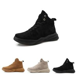Mens-High-Top-Fashion-Running-Breathable-Athletic-Walking-Sport-Sneakers-Shoes