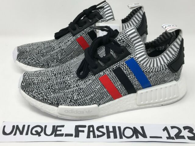 0c47085c5d46c adidas NMD R1 Primeknit Tri Colour Grey Trainers UK 9 EUR 43 Em33 60 ...
