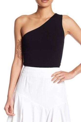 Women One shoulder off Tank Tops T-Shirt Tee Blouse Made in USA