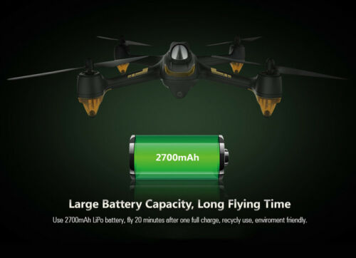 Hubsan X4 H501S High Edition FPV RC Quadcopter W// 1080P Follow Me GPS RTF H906A