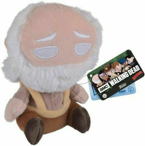 """Funko mopeez THE WALKING DEAD Hershel 6/"""" da collezione personaggio di Peluche giocattolo morbido"""