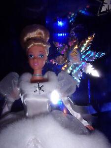 Mattel Holiday Princess 1st in Series Walt Disney Cinderella Doll Toy
