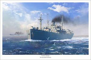 """Edmund Fitzgerald Marine Art Print 16/"""" x 24/"""""""