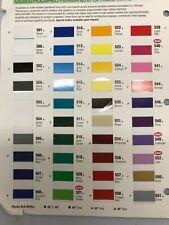 24 Sign Vinylcraft Vinyl 8 Rolls 10ea 26 Colors American Mfg