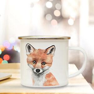 Preiswert Kaufen Emaille Tasse Fuchs Campingtasse Tier Motiv Fox Becher Emaillebecher Eb215 100% Garantie Tassen Geschenk- & Werbeartikel