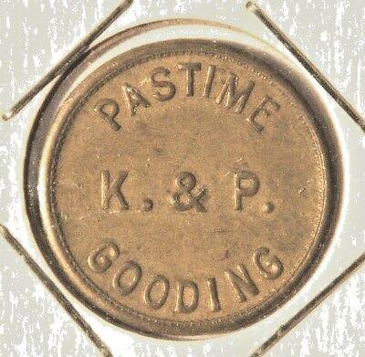 LOT D894 25c PASTIME WASHINGTON TOKEN g.f WA VANCOUVER