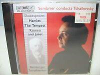 Tchaikovsky Hamlet, The Tempest, Romeo & Juliet Bamberg So/serebrier Bis