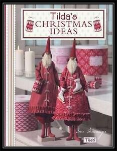 Image Is Loading Tilda 039 S Christmas Ideas Tone Finnager New
