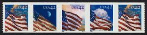 #4239a 42c Americano Banderas, Pnc S1111 Nuevo Cualquier 5=
