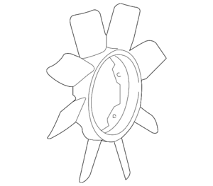 Details about  /Genuine Nissan Fan Blade 21060-6P00A
