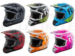 Fly-Racing-Kinetic-Burnish-Helmet-Motocross-Dirt-Bike-Offroad-MX-ATV-Snowmobile