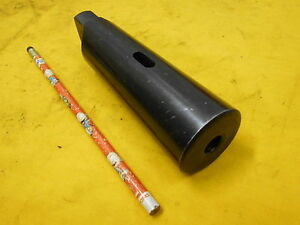 MORSE TAPER #5 TO MORSE TAPER # 2 ADAPTER SLEEVE FOR MONARCH OR OTHER LATHE