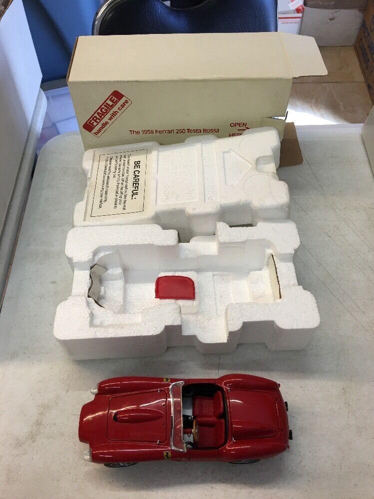 1958 ferrari 250 testa rossa von mint - modell 1,24 skala versandkosten minze
