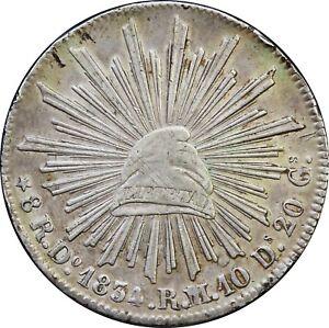 Mexico-8-Reales-Do-1834-R-M-Durango-Mint-KM-377-4