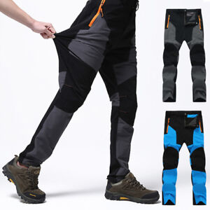fbdbcc8f1da Image is loading Mens-Camping-Hiking-Trousers-Windproof-Waterproof-Sport -Casual-