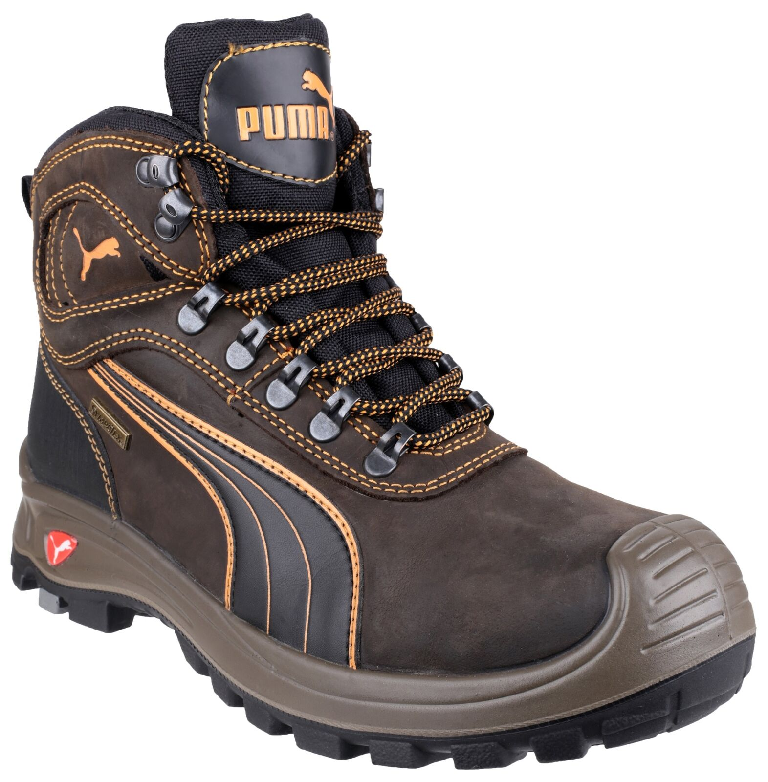 Puma Sierra Nevada Mid Safety Work Boots 630220 Brown S3 Sizes 6-13 Composite