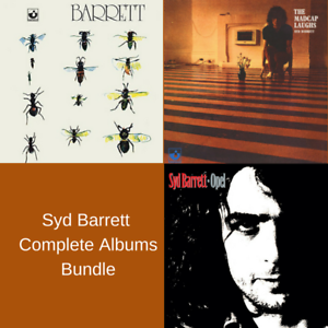 Syd-Barrett-Complete-Albums-Bundle-3-x-Remastered-Vinyl-LP-039-s-NEW-amp-SEALED