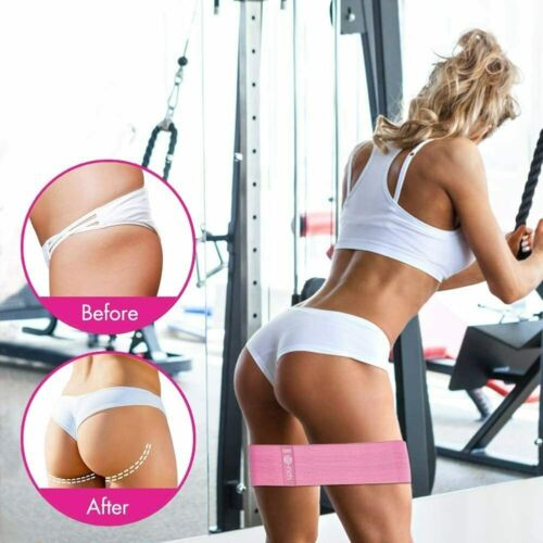 3 Booty Bands Resistance Hip Widerstandsband Loop Heavy Duty Glute Hip Circle