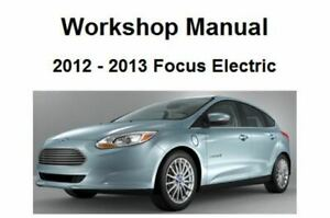 2012 ford focus wiring diagram 2013 ford focus electric repair service workshop manual and wiring 2012 ford focus horn wiring diagram 2013 ford focus electric repair service