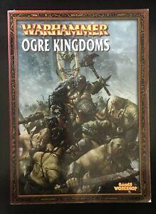 Belle Warhammer Armées-ogre Kingdom Softback Livre Publié Par Games Workshop-afficher Le Titre D'origine Attrayant Et Durable