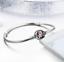 NEW Fashion 925 Silver Flower Bangle European Charm Bracelet Fit Women Size Pick