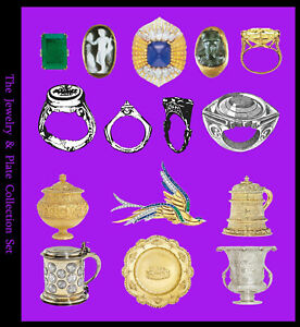 Details about Jewellery, Hallmarks, Ancient Rings, Silver (PDFs) Metal  Detecting