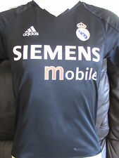 "Real Madrid - Black Away Shirt - 2004/05 - 32""-34"""