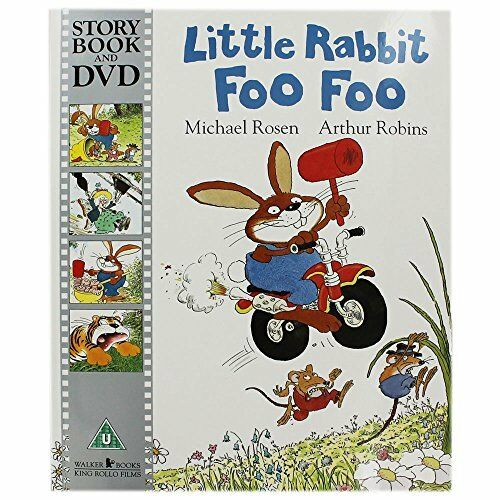 1 of 1 - Little Rabbit Foo Foo by Rosen, Michael 1406359157 The Cheap Fast Free Post