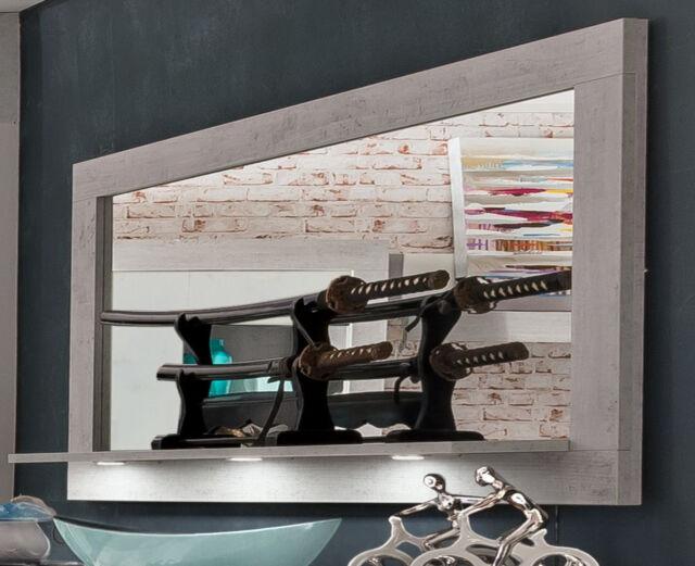 Wandspiegel Spiegel Esszimmer Wohnzimmer Beton Industry Woody 93 00857