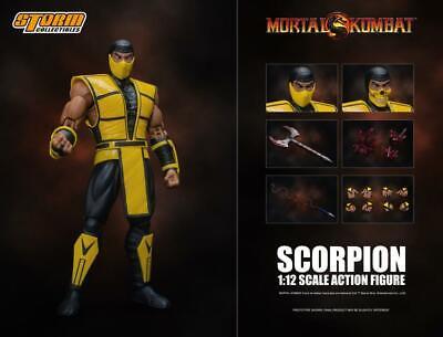 Storm Collectibles 1 12 Scale Mortal Kombat Scorpion Action Figure
